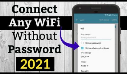How to Connect Any WiFi without Password 2021