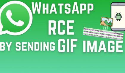 WhatsApp - a malicious GIF that could execute code on your smartphone - Bug Bounty Reports Explained