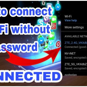 How to connect to wifi without password | tips and tricks | Hoo basics